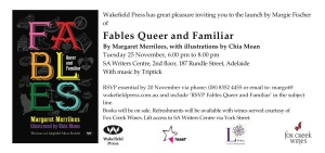 Fables invitation Adelaide